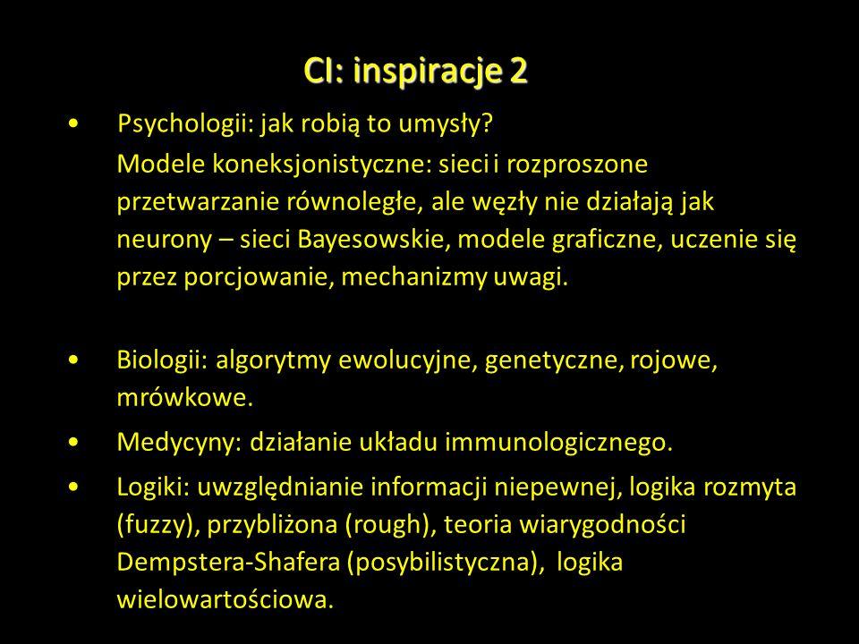CI: inspiracje 2 Psychologii: jak robią to umysły