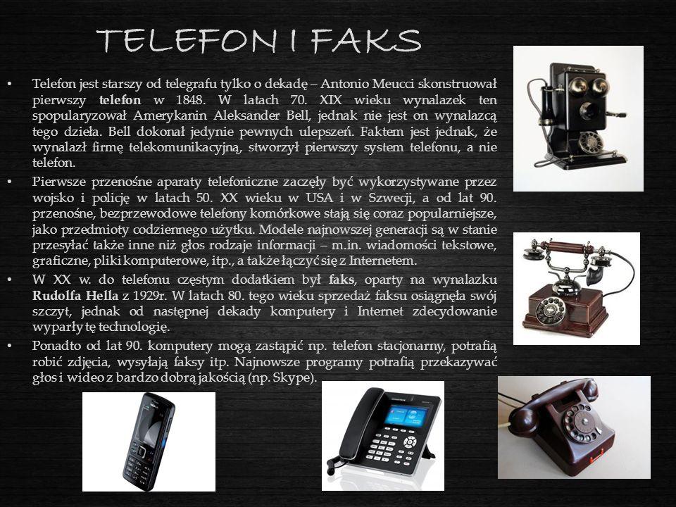 TELEFON I FAKS