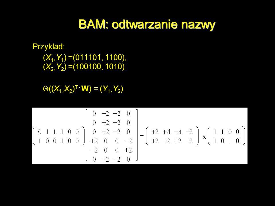 BAM: odtwarzanie nazwy