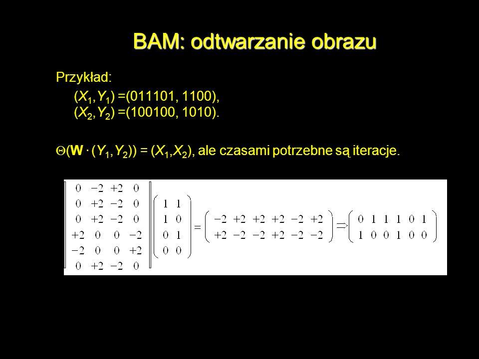 BAM: odtwarzanie obrazu