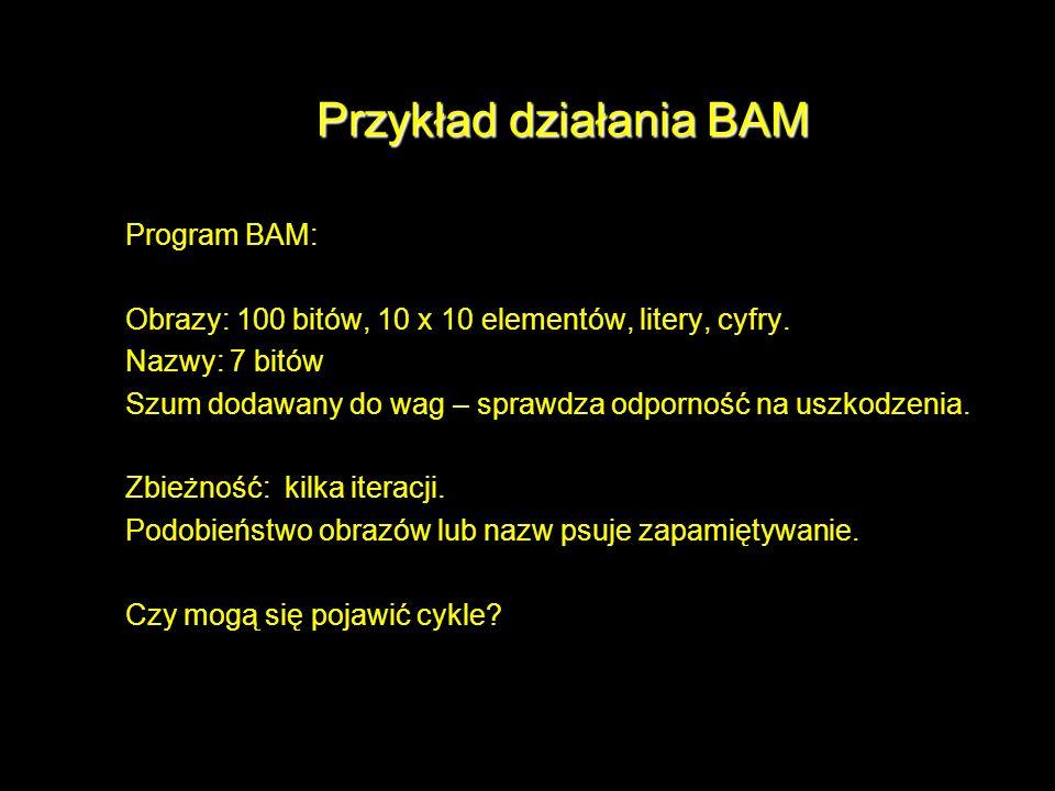Przykład działania BAM