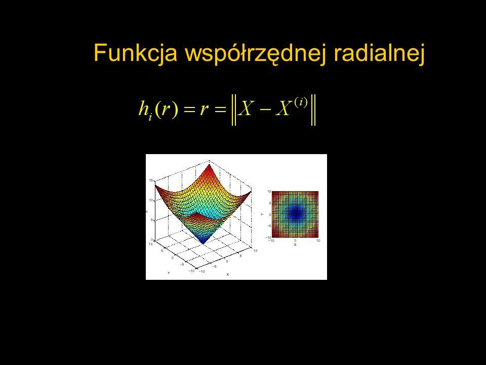 Funkcja współrzędnej radialnej