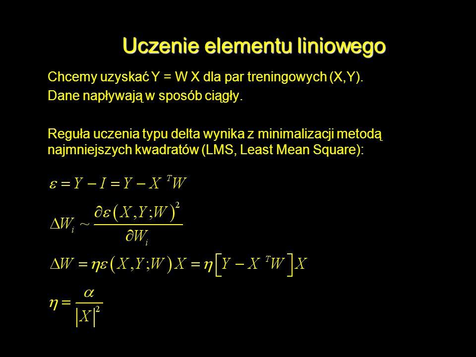 Uczenie elementu liniowego
