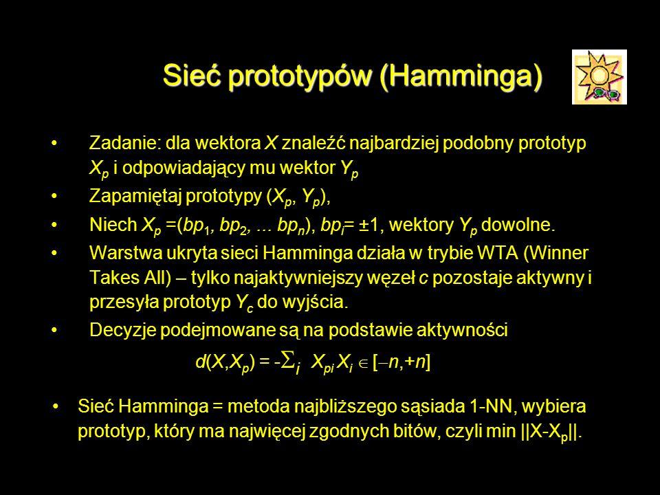 Sieć prototypów (Hamminga)
