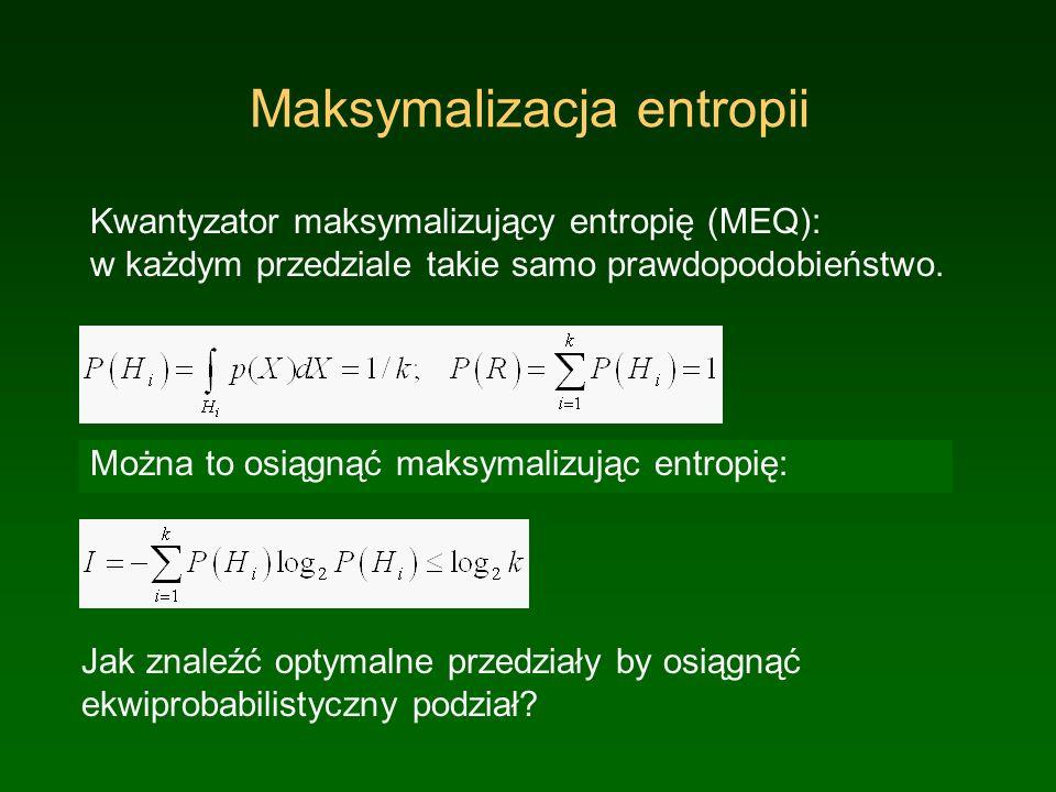 Maksymalizacja entropii