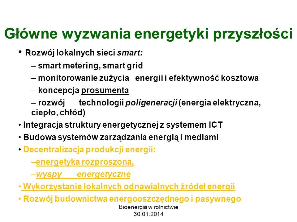 Główne wyzwania energetyki przyszłości