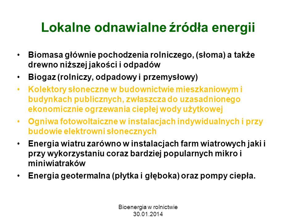 Lokalne odnawialne źródła energii
