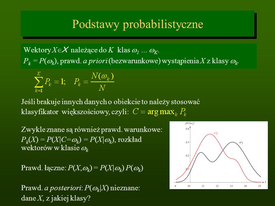 Podstawy probabilistyczne