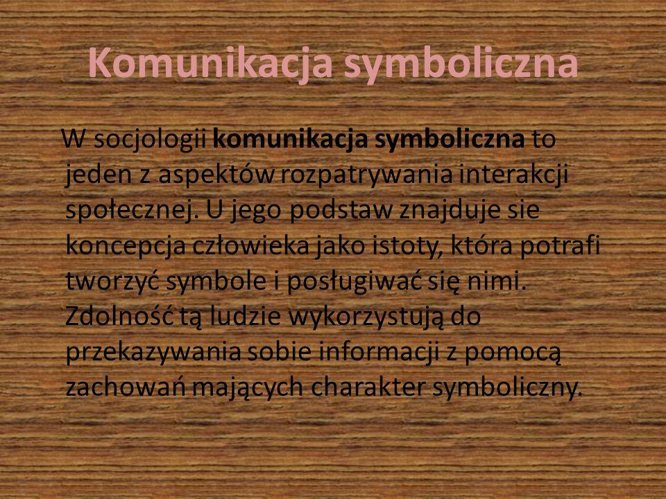 Komunikacja symboliczna