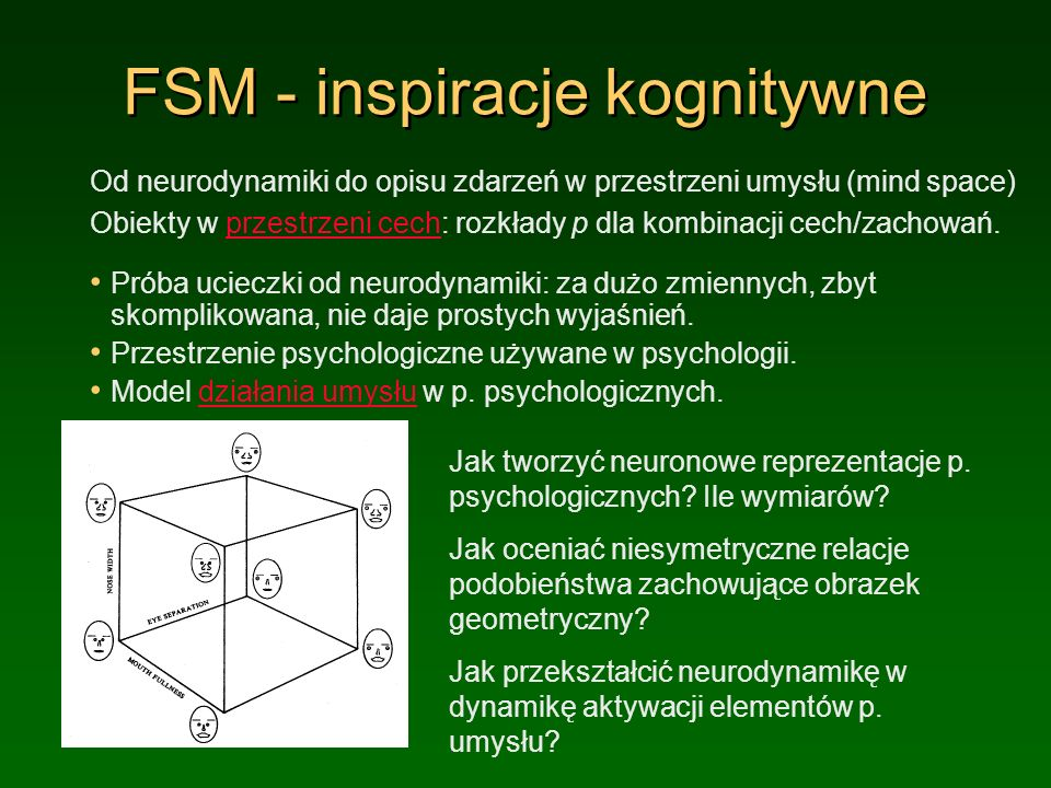 FSM - inspiracje kognitywne