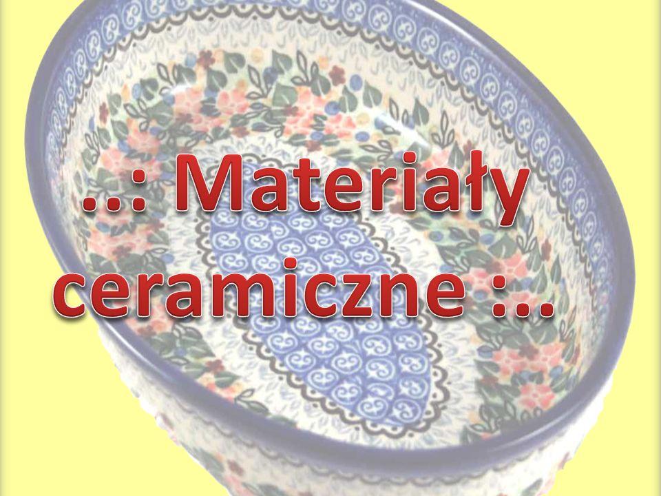..: Materiały ceramiczne :..