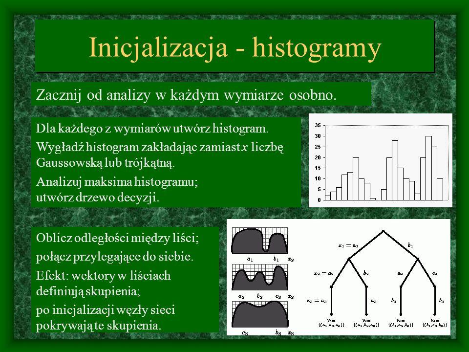 Inicjalizacja - histogramy