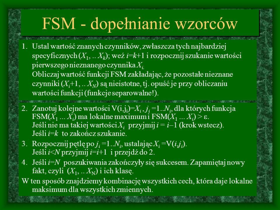 FSM - dopełnianie wzorców