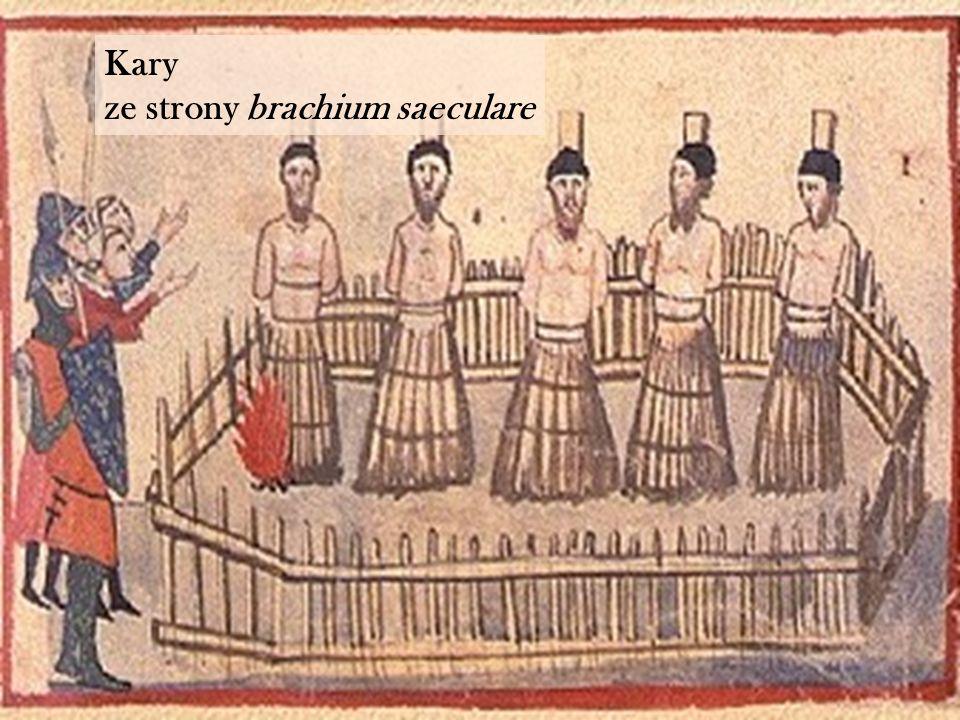 Kary ze strony brachium saeculare