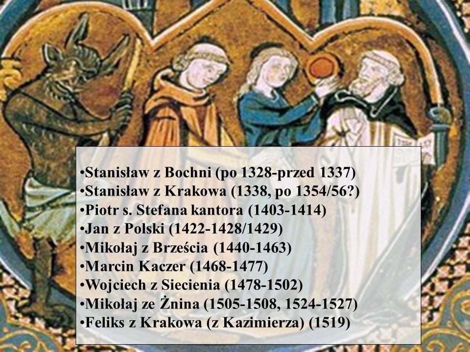 Stanisław z Bochni (po 1328-przed 1337)