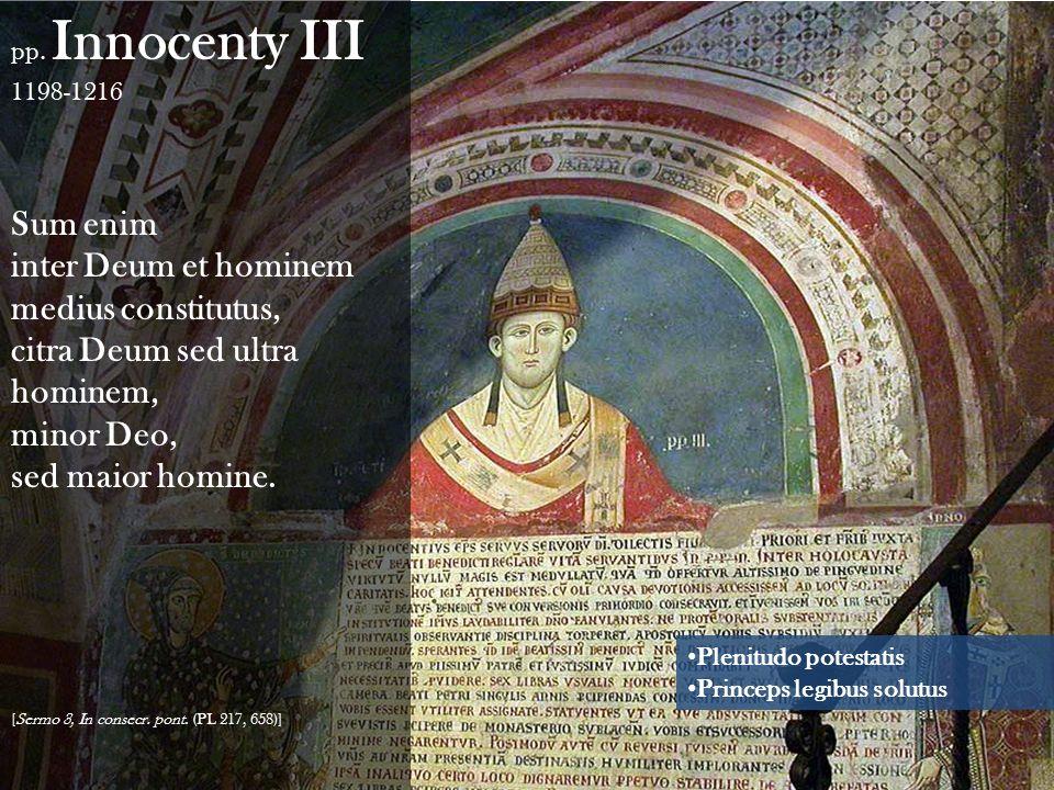 inter Deum et hominem medius constitutus,