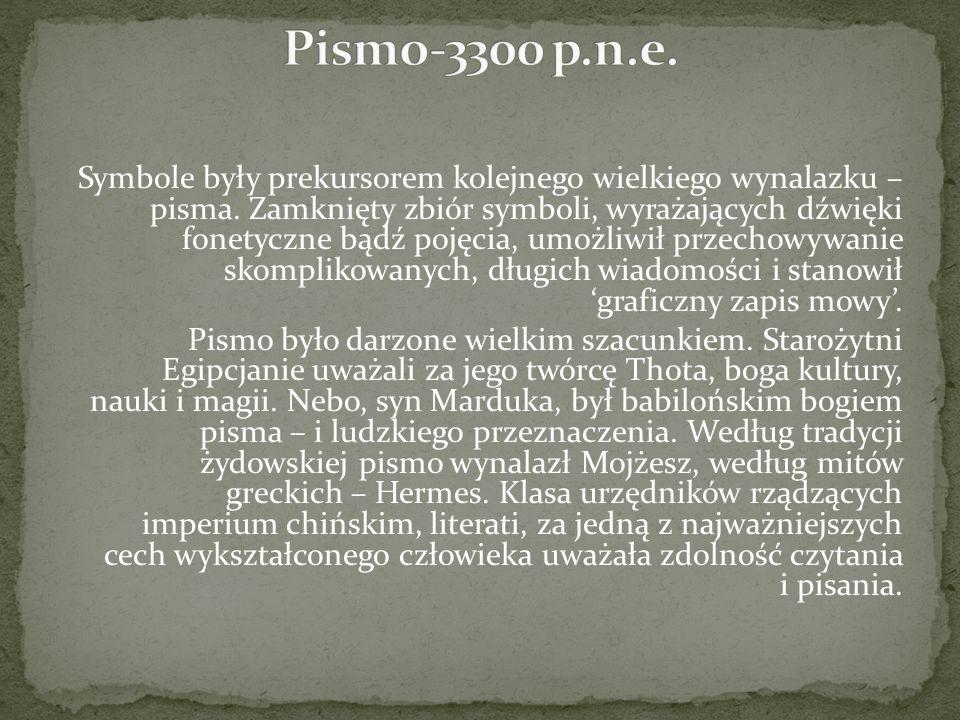 Pismo-3300 p.n.e.