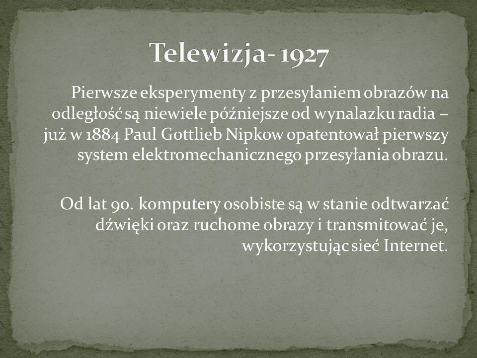 Telewizja- 1927