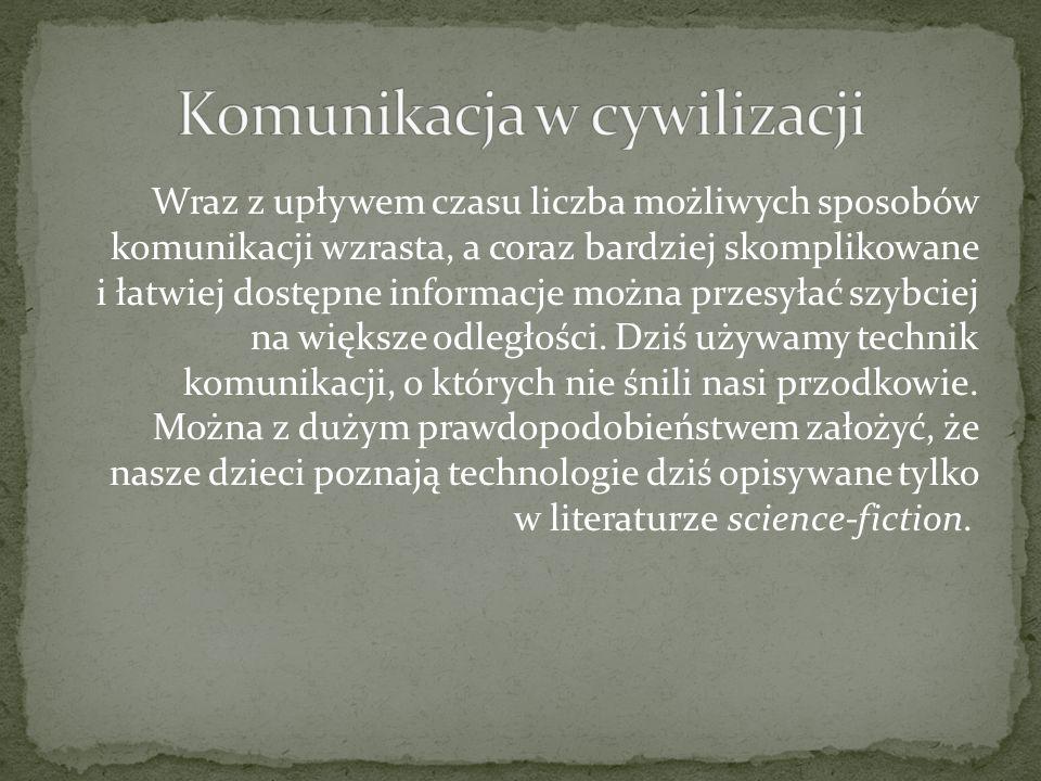Komunikacja w cywilizacji