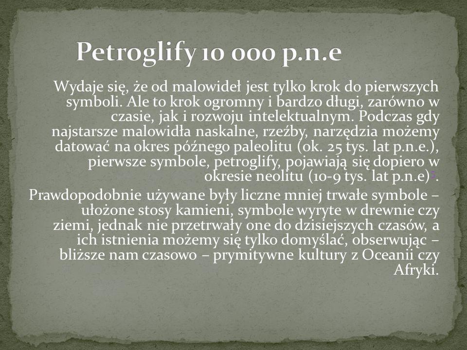Petroglify 10 000 p.n.e