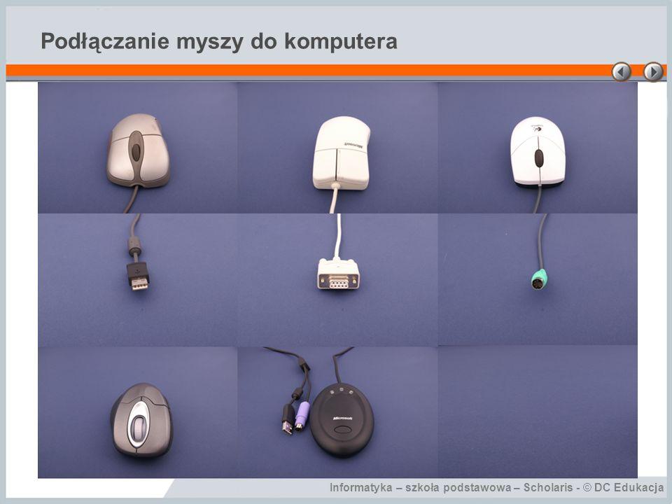 Podłączanie myszy do komputera