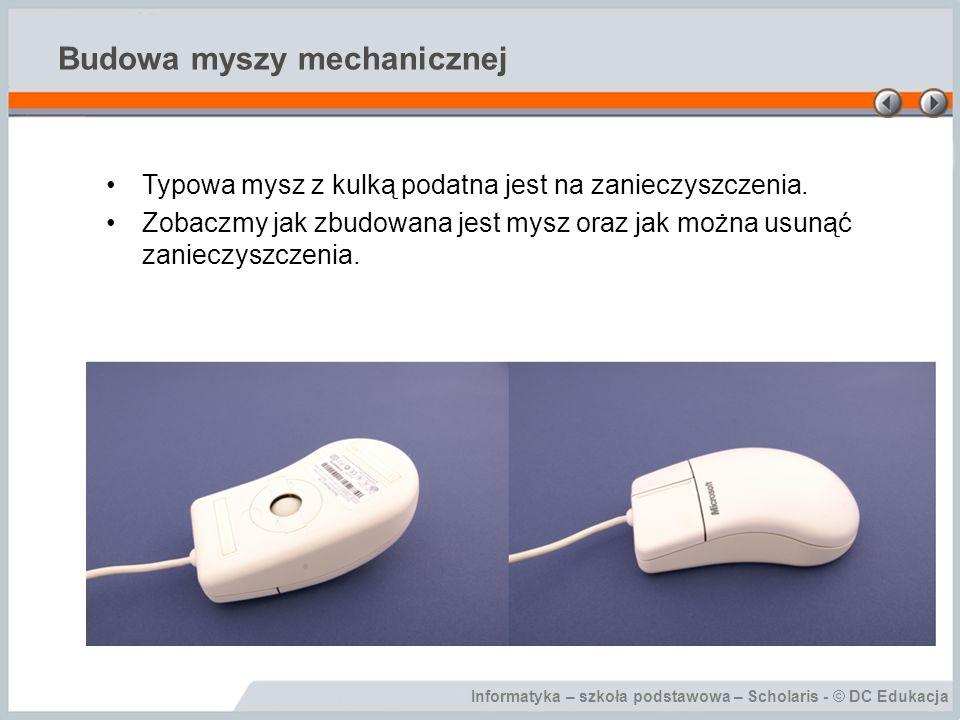Budowa myszy mechanicznej