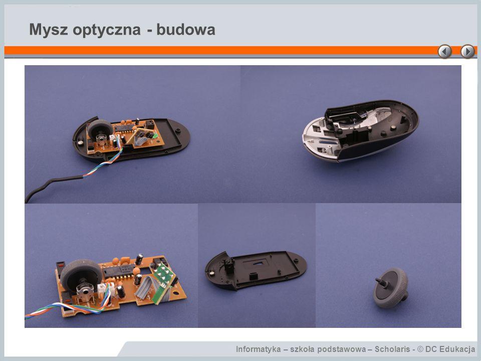 Mysz optyczna - budowa