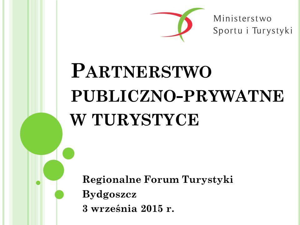 Partnerstwo publiczno-prywatne w turystyce