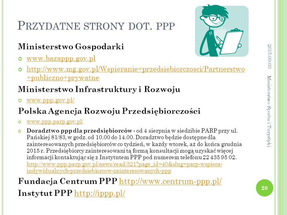 Przydatne strony dot. ppp