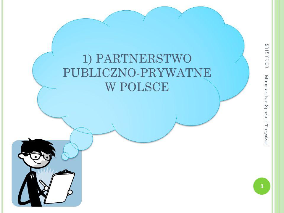 1) PARTNERSTWO PUBLICZNO-PRYWATNE W POLSCE