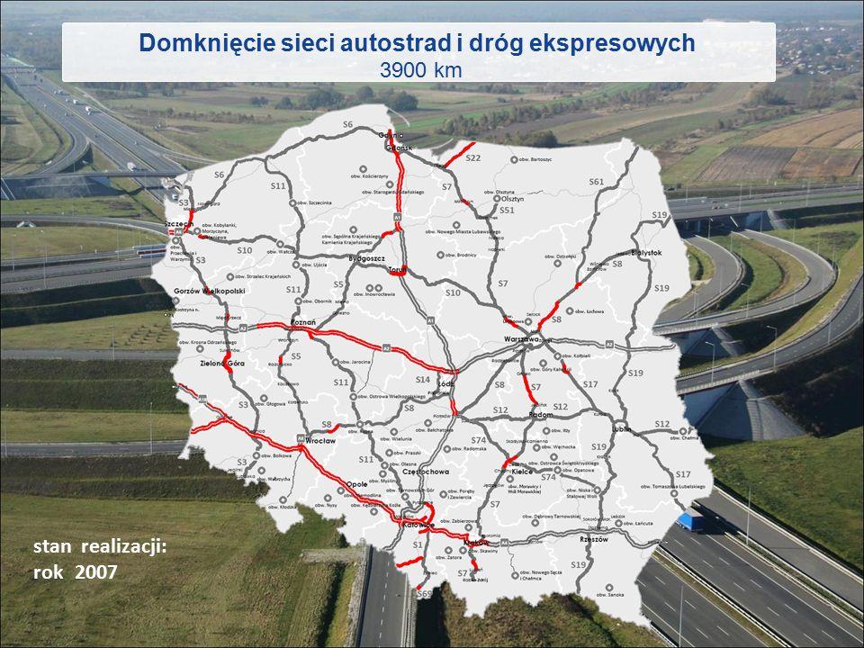 Domknięcie sieci autostrad i dróg ekspresowych