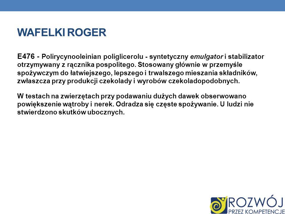 Wafelki Roger