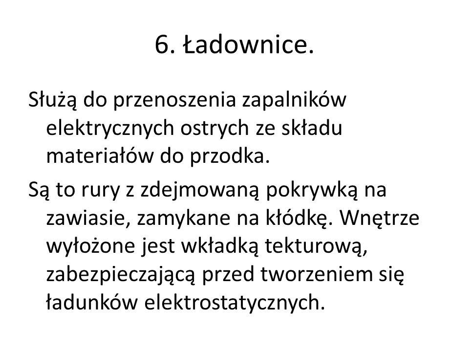 6. Ładownice.