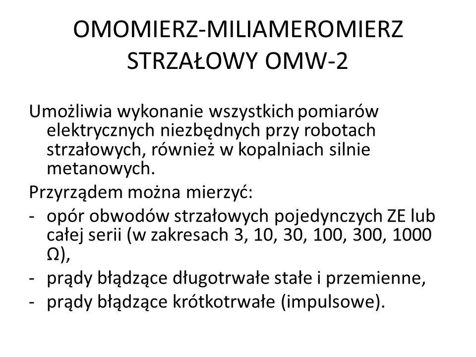 OMOMIERZ-MILIAMEROMIERZ STRZAŁOWY OMW-2