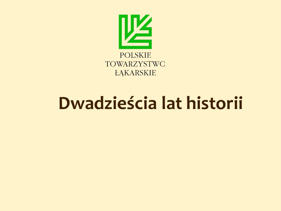 Dwadzieścia lat historii