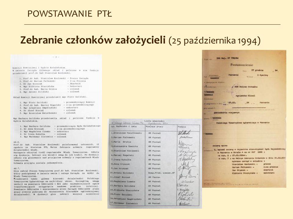 Zebranie członków założycieli (25 października 1994)
