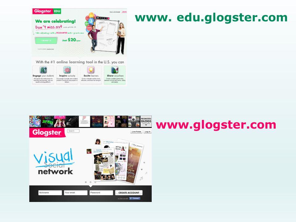www. edu.glogster.com www.glogster.com