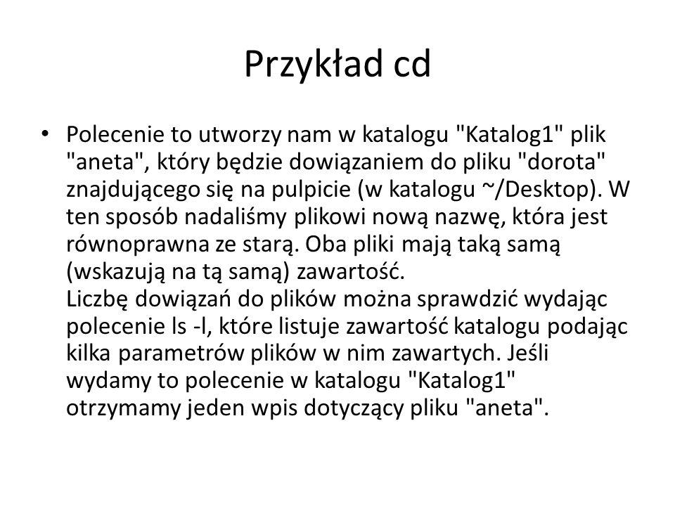 Przykład cd