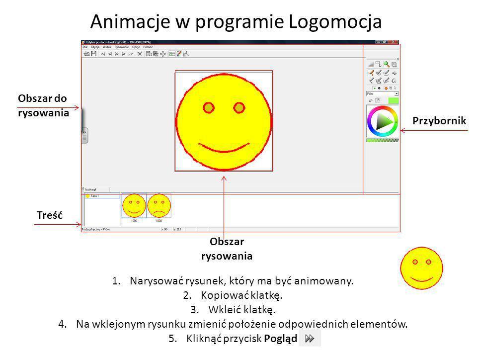 Animacje w programie Logomocja
