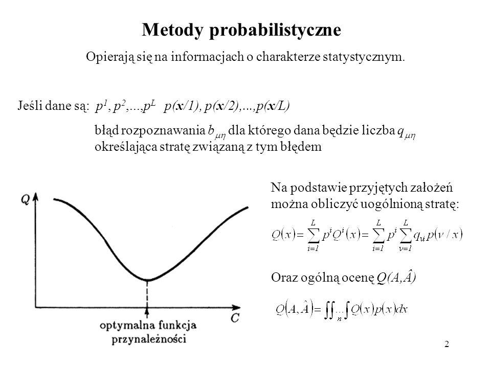 Metody probabilistyczne
