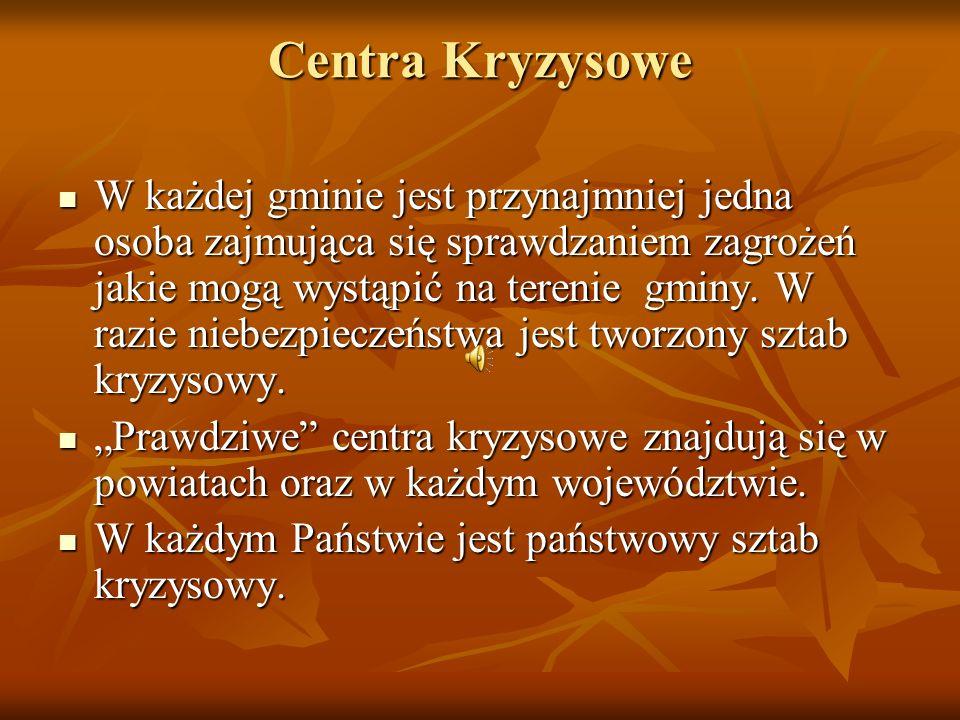 Centra Kryzysowe