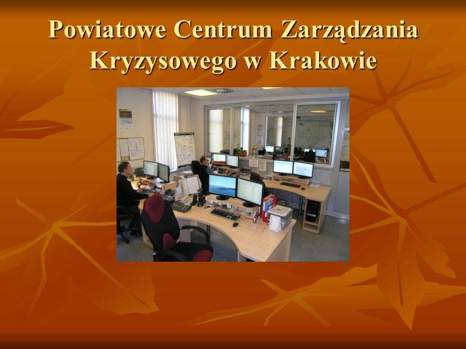 Powiatowe Centrum Zarządzania Kryzysowego w Krakowie