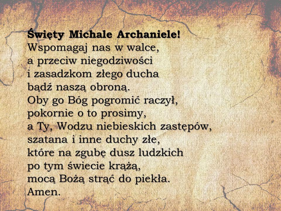 Święty Michale Archaniele