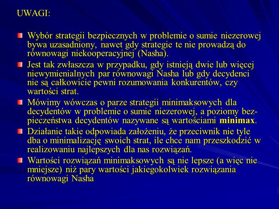 UWAGI: