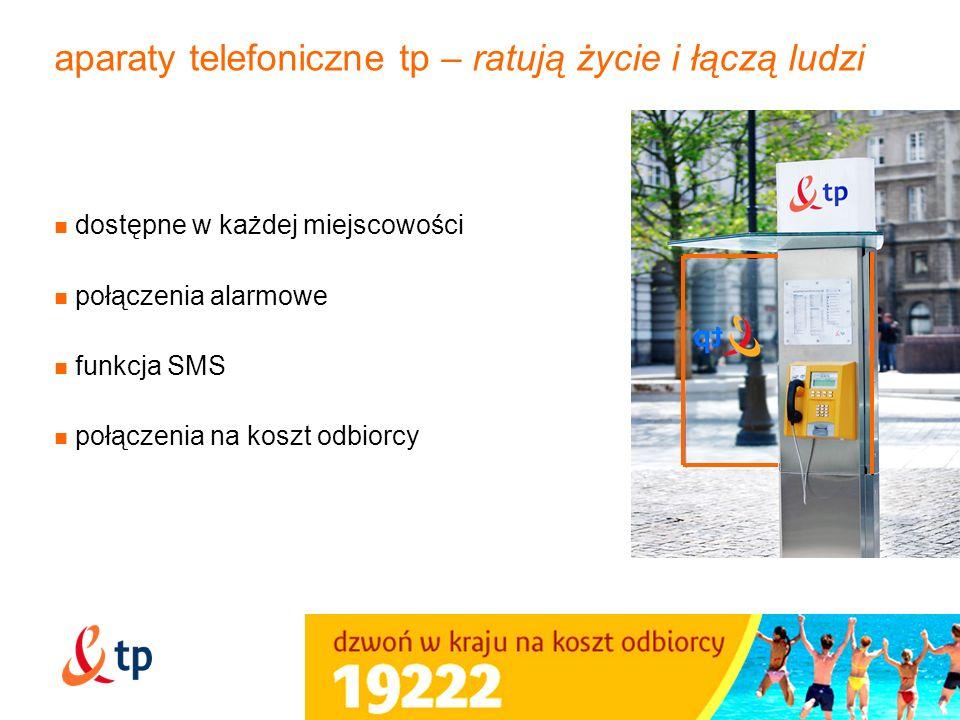 aparaty telefoniczne tp – ratują życie i łączą ludzi