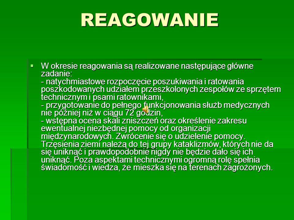 REAGOWANIE