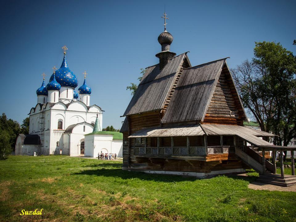Suzdal - cerkiew św. Mikołaja Suzdal Region Nowogrodzki Rostów