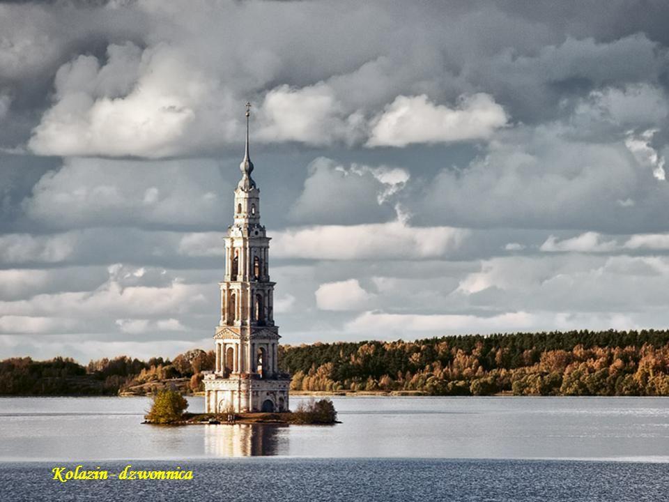 Borowienskoje – cerkiew Uspienska Kostroma Kolazin - dzwonnica