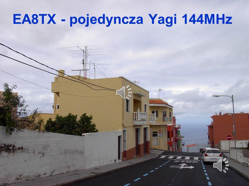EA8TX - pojedyncza Yagi 144MHz