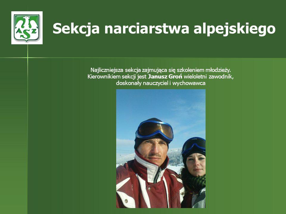 Sekcja narciarstwa alpejskiego